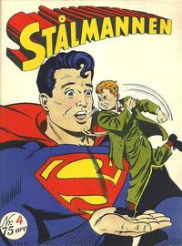 Cover Thumbnail for Stålmannen (Serieforlaget / Se-Bladene / Stabenfeldt, 1952 series) #4/1953