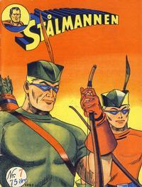 Cover Thumbnail for Stålmannen (Serieforlaget / Se-Bladene / Stabenfeldt, 1952 series) #7/1953