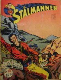Cover Thumbnail for Stålmannen (Serieforlaget / Se-Bladene / Stabenfeldt, 1952 series) #10/1953