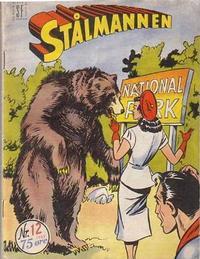 Cover Thumbnail for Stålmannen (Serieforlaget / Se-Bladene / Stabenfeldt, 1952 series) #12/1953
