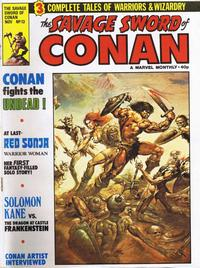 Cover Thumbnail for The Savage Sword of Conan (Marvel UK, 1977 series) #13
