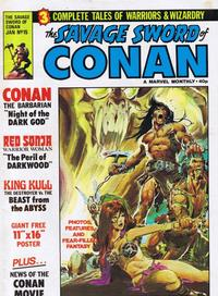 Cover Thumbnail for The Savage Sword of Conan (Marvel UK, 1977 series) #15