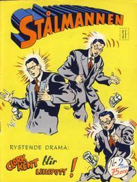 Cover Thumbnail for Stålmannen (Serieforlaget / Se-Bladene / Stabenfeldt, 1952 series) #2/1954