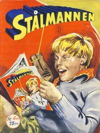 Cover Thumbnail for Stålmannen (Serieforlaget / Se-Bladene / Stabenfeldt, 1952 series) #4/1954