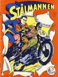 Cover Thumbnail for Stålmannen (Serieforlaget / Se-Bladene / Stabenfeldt, 1952 series) #5/1954