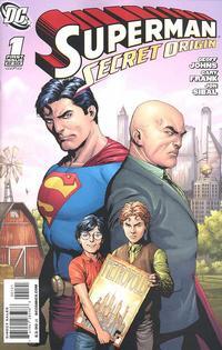 Cover Thumbnail for Superman: Secret Origin (DC, 2009 series) #1 [Gary Frank Lex Luthor Cover]