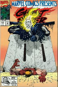 Cover Thumbnail for Marvel Comics Presents (Marvel, 1988 series) #100 [Direct]