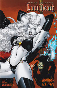 Cover Thumbnail for Brian Pulido's Lady Death: Abandon All Hope (Avatar Press, 2005 series) #3 [Wrap]