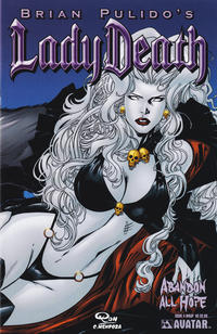 Cover Thumbnail for Brian Pulido's Lady Death: Abandon All Hope (Avatar Press, 2005 series) #4 [Wrap]