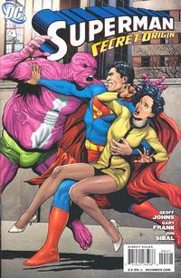 Cover Thumbnail for Superman: Secret Origin (DC, 2009 series) #4 [Gary Frank Parasite Cover]
