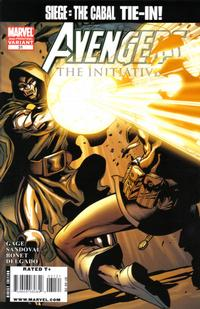 Cover Thumbnail for Avengers: The Initiative (Marvel, 2007 series) #31 [Second Printing]