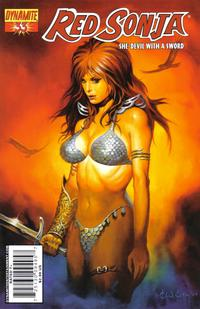 Cover Thumbnail for Red Sonja (Dynamite Entertainment, 2005 series) #33 [Ken Kelly Cover]