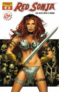 Cover Thumbnail for Red Sonja (Dynamite Entertainment, 2005 series) #0 [Cover A]