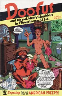 Cover Thumbnail for Doofus (Fantagraphics, 1994 series) #2