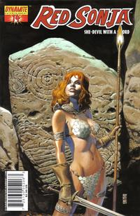 Cover Thumbnail for Red Sonja (Dynamite Entertainment, 2005 series) #14 [J.G. Jones Cover]