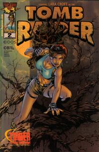 Cover Thumbnail for Tomb Raider: The Series (Image, 1999 series) #2 [Tower Records Metallic Variant]