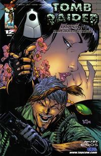 Cover Thumbnail for Tomb Raider: The Series (Image, 1999 series) #12 [Graham Cracker Gold Foil Variant]