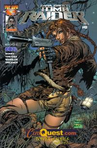 Cover for Tomb Raider: The Series (Image, 1999 series) #43 [Cinequest Variant]