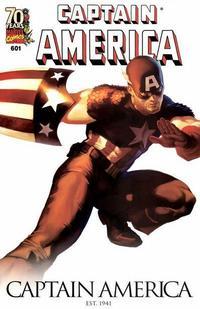 Cover Thumbnail for Captain America (Marvel, 2005 series) #601 [70 Years of Marvel Variant]