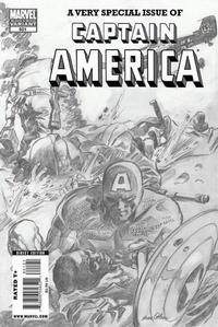 Cover Thumbnail for Captain America (Marvel, 2005 series) #601 [Gene Colan Pencil Variant]