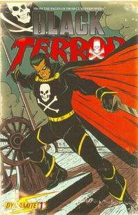 Cover Thumbnail for Black Terror (Dynamite Entertainment, 2008 series) #1 [John Romita Sr. Variant]