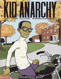 Cover Thumbnail for Kid Anarchy (Fantagraphics, 1991 series) #2
