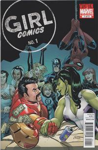 Cover Thumbnail for Girl Comics (Marvel, 2010 series) #1