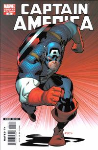 Cover for Captain America (Marvel, 2005 series) #25 [Variant Cover]