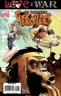 Cover Thumbnail for Incredible Hercules (Marvel, 2008 series) #121 [Marvel Apes Variant Edition]