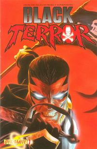 Cover Thumbnail for Black Terror (Dynamite Entertainment, 2008 series) #1 [Alex Ross Cover]