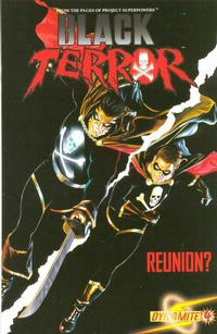 Cover Thumbnail for Black Terror (Dynamite Entertainment, 2008 series) #4 [Alex Ross Cover]