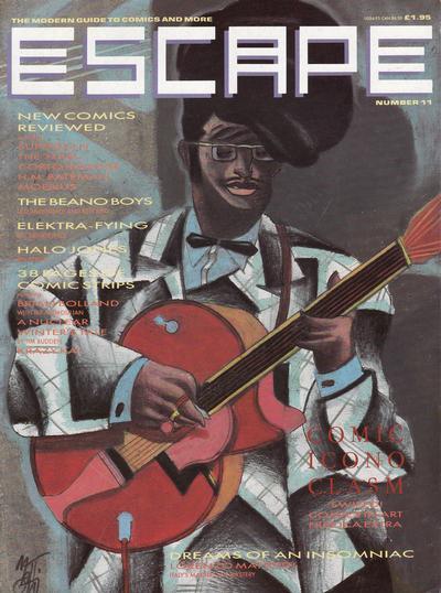 Cover for Escape (Titan, 1986 series) #11