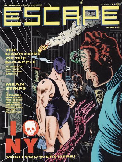 Cover for Escape (Titan, 1986 series) #13
