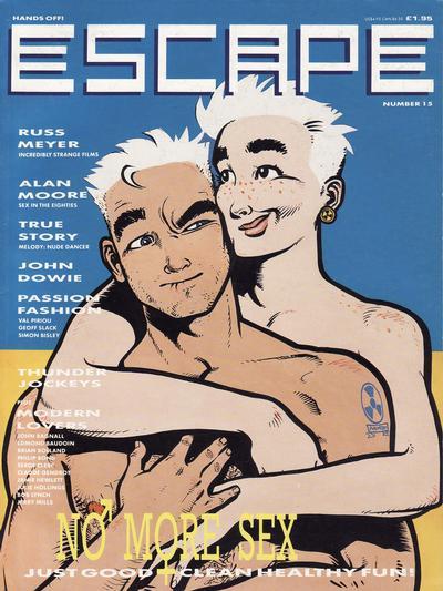 Cover for Escape (Titan, 1986 series) #15