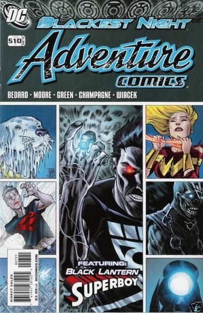 Cover for Adventure Comics (DC, 2009 series) #7 / 510 [Variant Cover (1 in 10)]