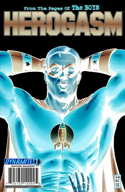Cover for The Boys: Herogasm (Dynamite Entertainment, 2009 series) #1