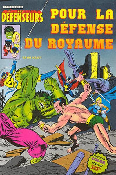 Cover for Les Défenseurs (Arédit-Artima, 1981 series) #3