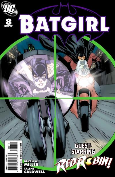 Cover for Batgirl (DC, 2009 series) #8