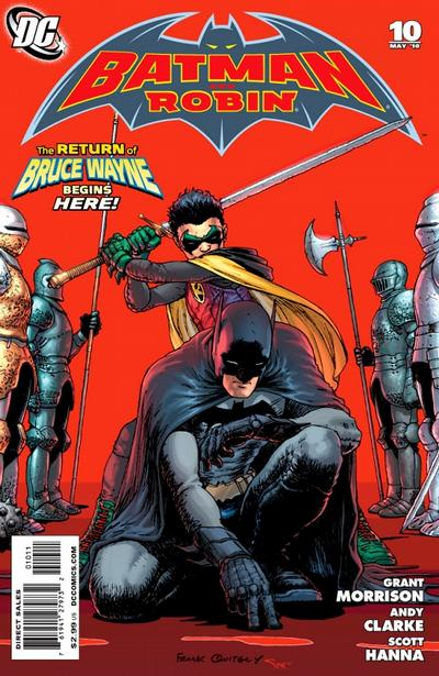 Cover for Batman and Robin (DC, 2009 series) #10