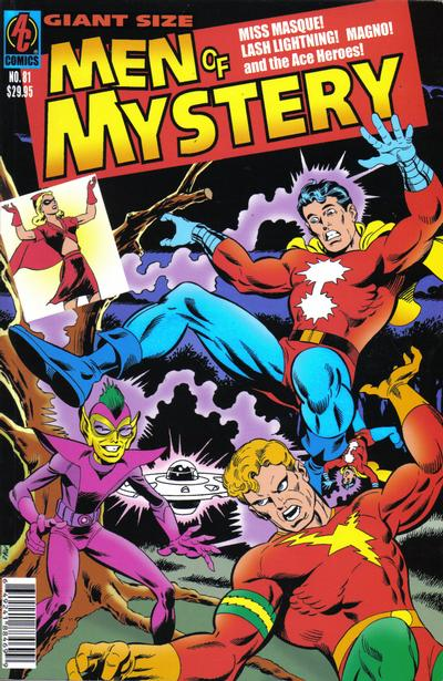 Cover for Men of Mystery Comics (AC, 1999 series) #81
