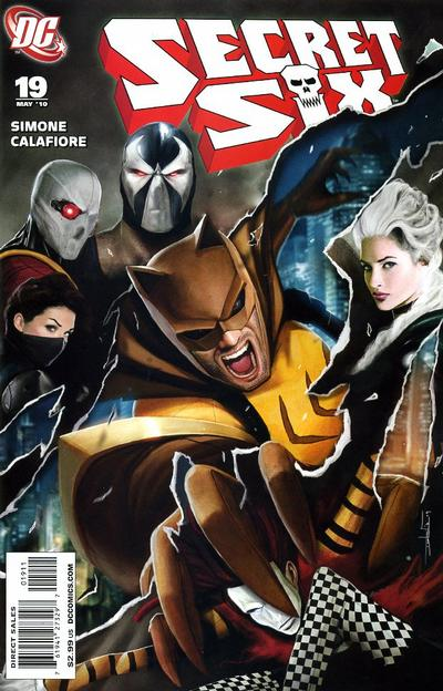 Cover for Secret Six (DC, 2008 series) #19