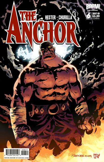 Cover for The Anchor (Boom! Studios, 2009 series) #6