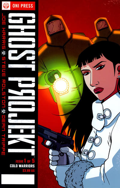 Cover for Ghost Projekt (Oni Press, 2010 series) #1