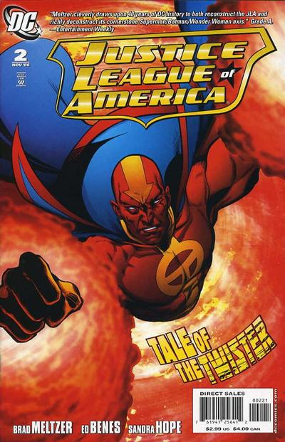 Cover for Justice League of America (DC, 2006 series) #2 [1 in 10 Cover Variant]