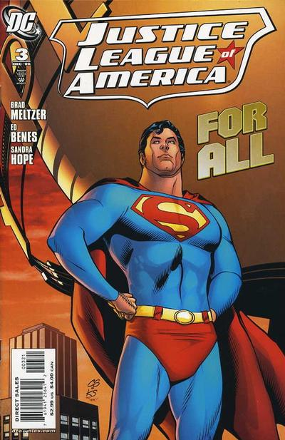 Cover for Justice League of America (DC, 2006 series) #3 [Regular Newsstand Cover]
