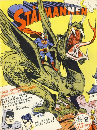 Cover for Stålmannen (Serieforlaget / Se-Bladene / Stabenfeldt, 1952 series) #2/1952