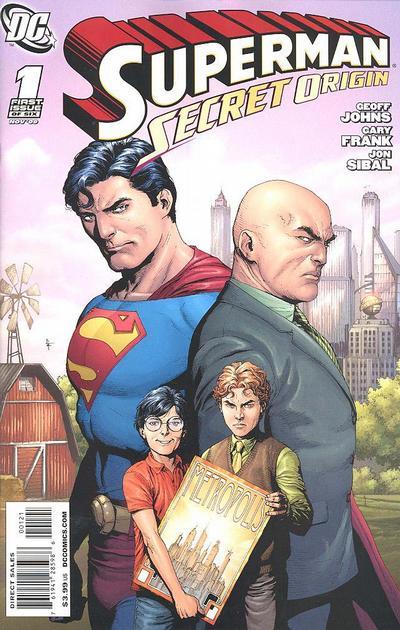 Cover for Superman: Secret Origin (DC, 2009 series) #1 [Gary Frank Lex Luthor Cover]