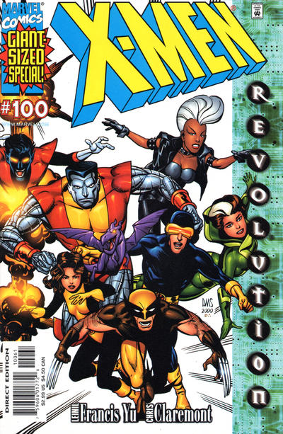 Cover for X-Men (Marvel, 1991 series) #100 [Newsstand]