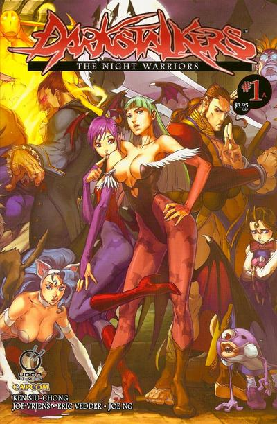 Cover for Darkstalkers the Night Warriors (Udon Comics, 2010 series) #1