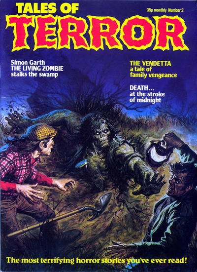 Cover for Tales of Terror (Portman Distribution, 1978 series) #2